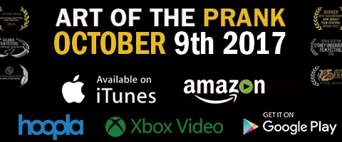 Art of the Prank is available October 9, 2017 on iTunes and other digital platforms